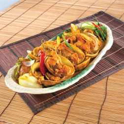 Thai-style Fried Clams with Curry