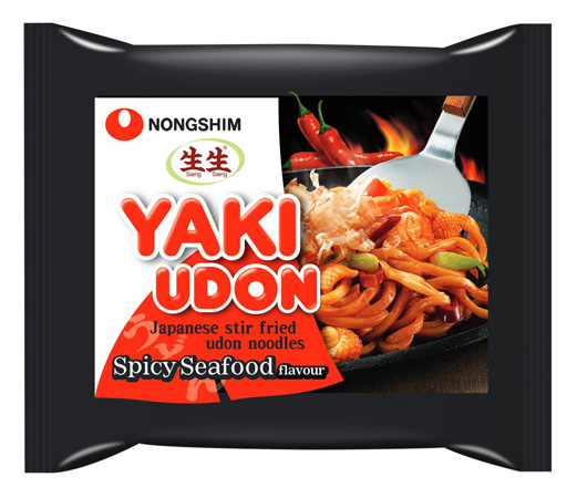 Nongshim Yaki Udon Noodle Spicy Seafood Flavour